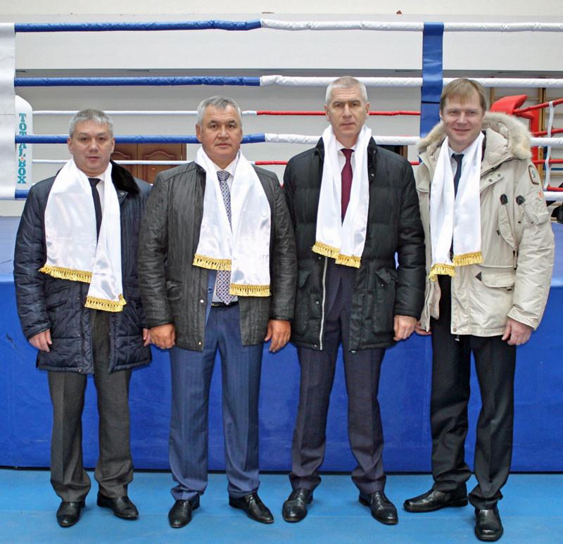 FISU President Oleg Matytsin has visited Russian city Elista to check on preparations for the 2018 World University Championship Boxing ©FISU