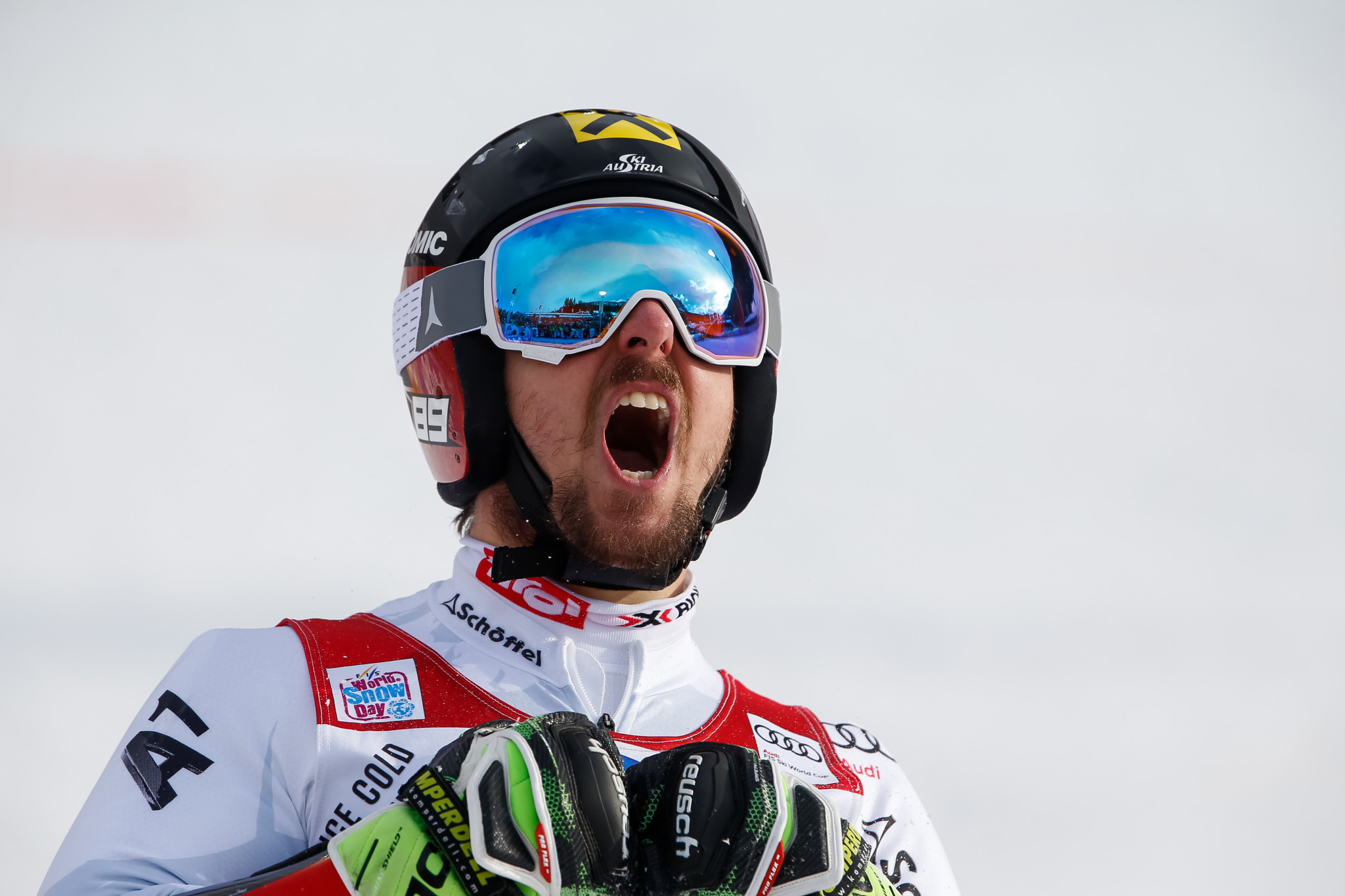 Hirscher cruises to record-breaking giant slalom success at FIS Alpine Skiing World Cup in Alta Badia
