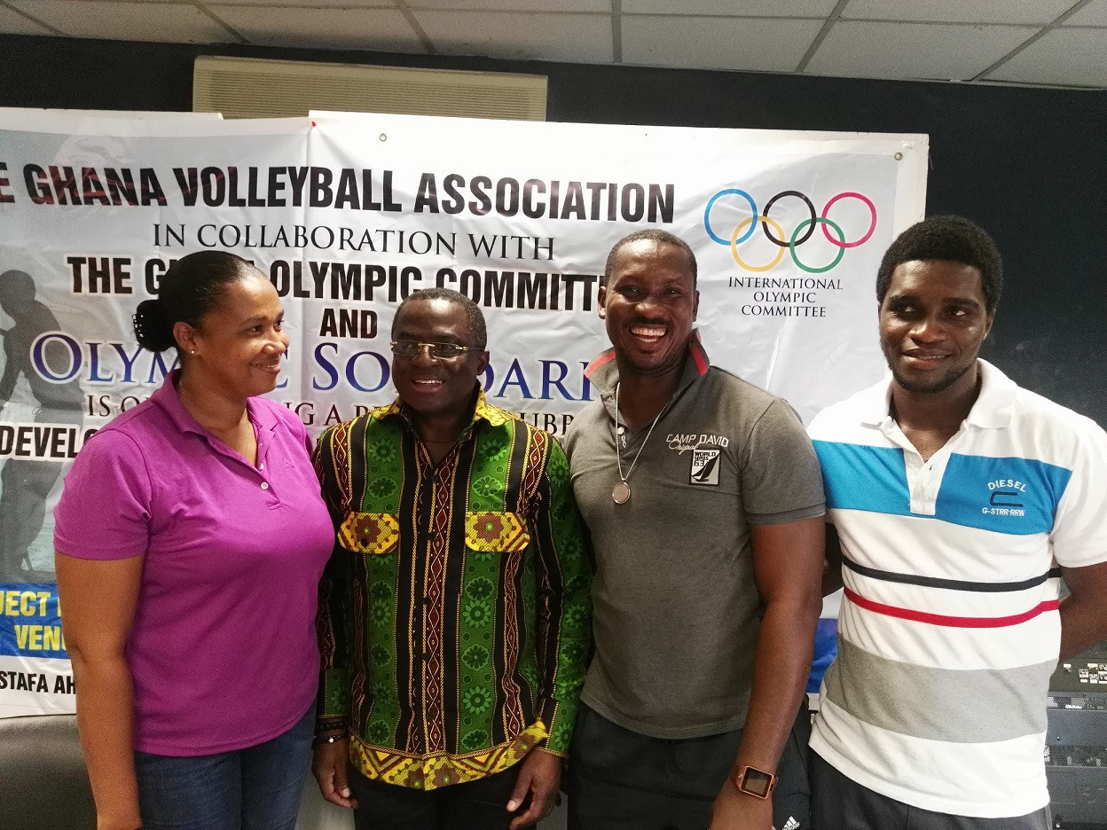 Ghana Olympic Committee host volleyball course in Accra