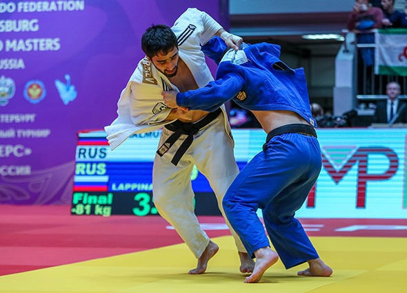 World champion Khalmurzaev wins IJF Masters on home soil