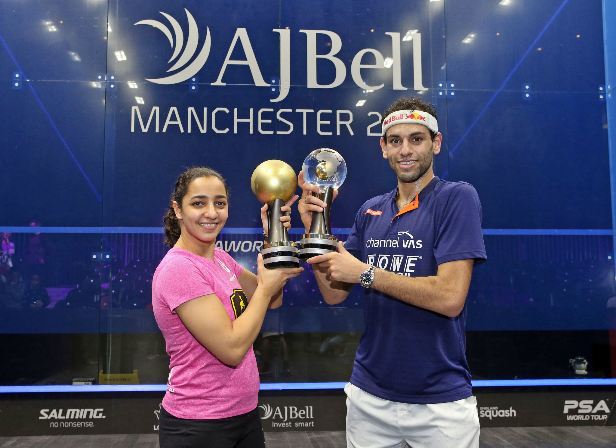 Mohamed Elshorbagy and El Welily crowned winners at 2017 PSA World Championships