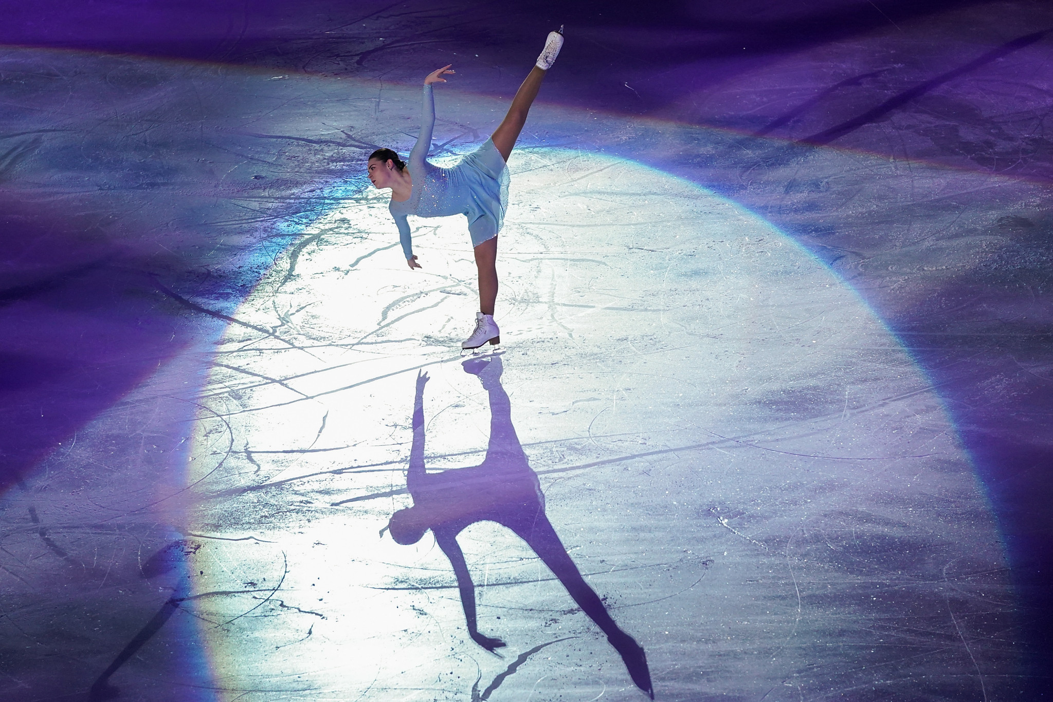 Adelina Sotnikova, pictured competing at a