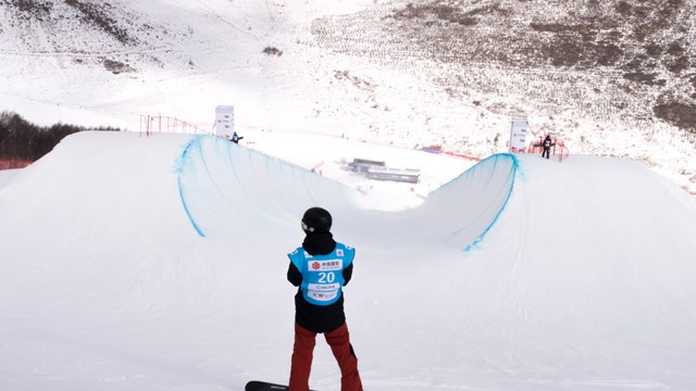 Cai to lead strong Chinese team at first home halfpipe snowboard World Cup since 2011