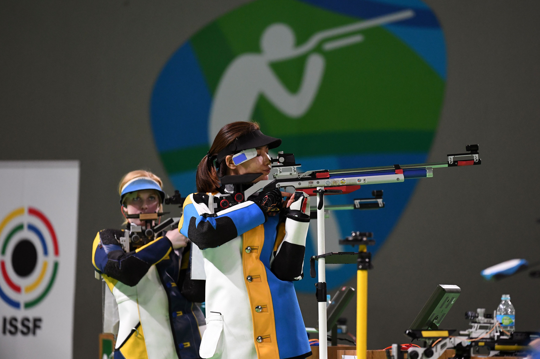 Female shooters will fire the same number of shots as men under the new rules ©Getty Images