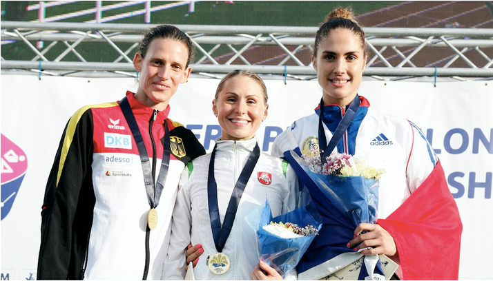 Olympic gold medallist Asadauskaite comes out on top at Modern Pentathlon European Championships