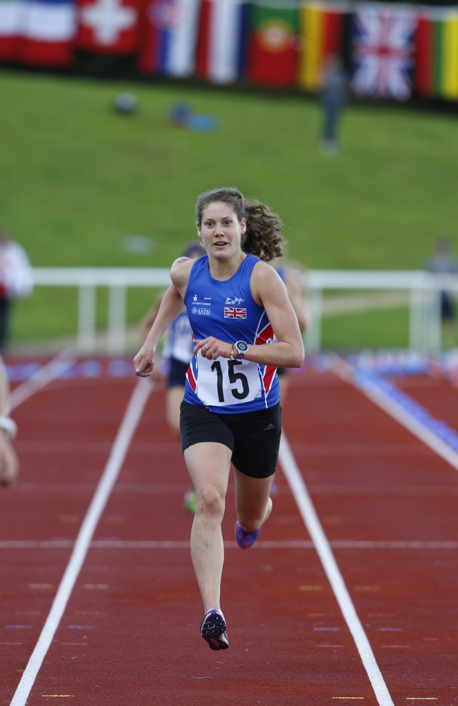 Kate French finished eighth to secure Rio 2016 qualification and help Great Britain to team gold
