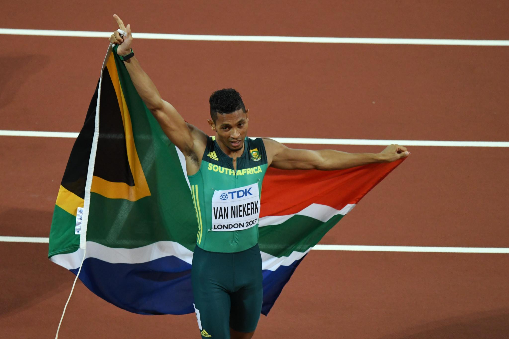 Wayde van Niekerk is missing the Commonwealth Games due to injury ©Getty Images