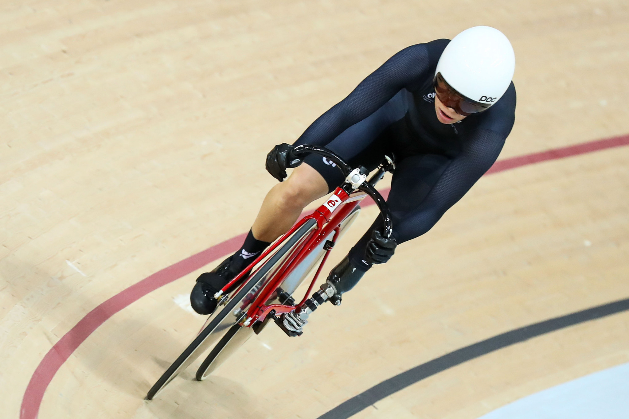 Kate Horan is one of nine cyclists from New Zealand taking part at the UCI Para Cycling Track World Championships in Rio de Janiero ©Getty Images