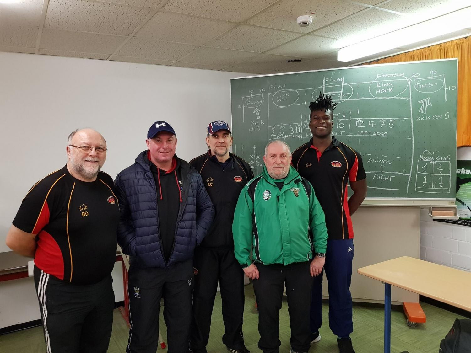 A new batch of coaches have qualified which will help take the sport of rugby league to a new level in Germany ©RLIF