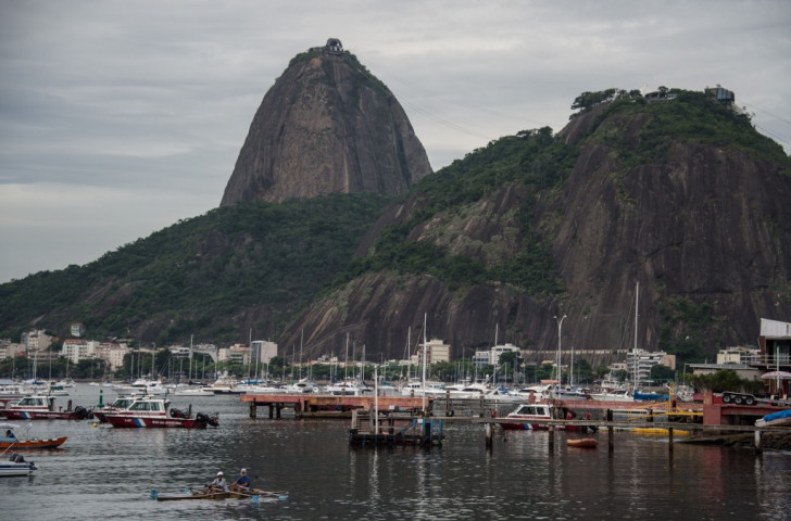 Removing debris from Guanabara Bay is a major challenge for Rio 2016 with little more than a year to go ©Getty Images