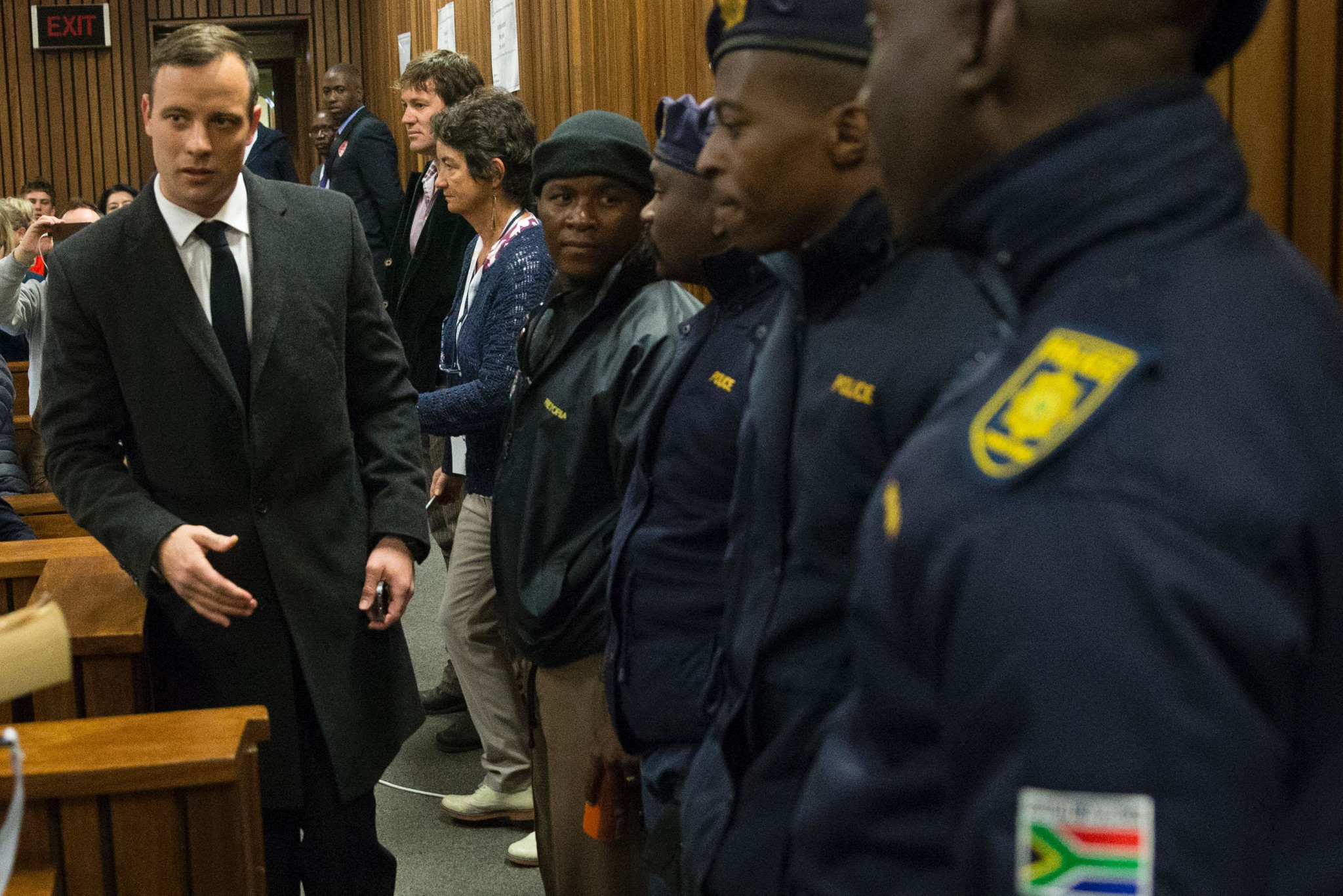 Oscar Pistorius pictured during his 2016 murder trial ©Getty Images