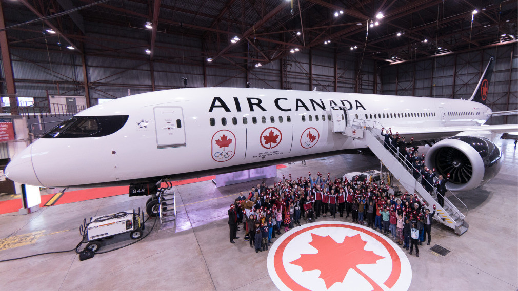 Air Canada renews Canadian Olympic Committee sponsorship