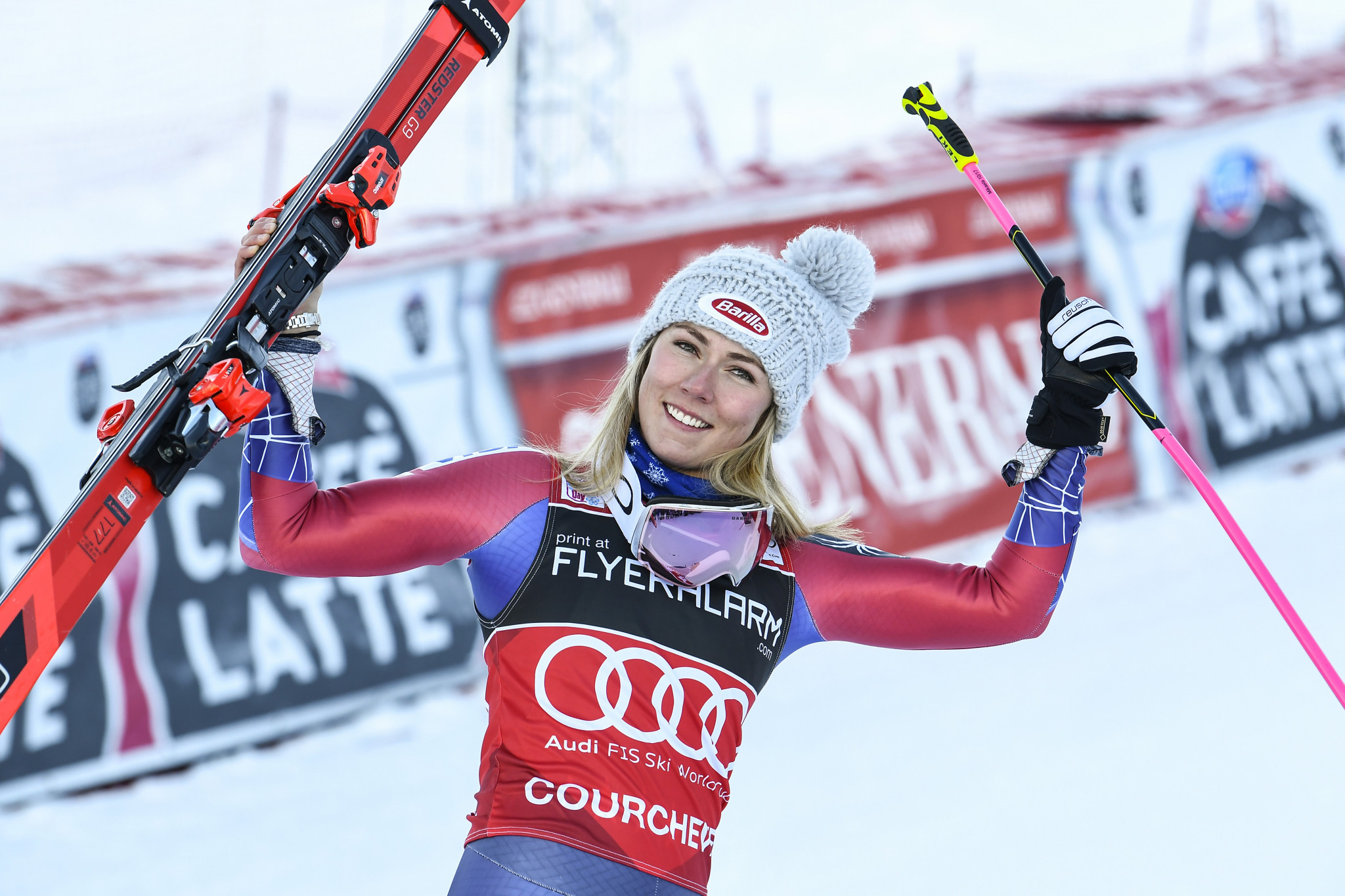 Shiffrin wins giant slalom at FIS Alpine Skiing World Cup