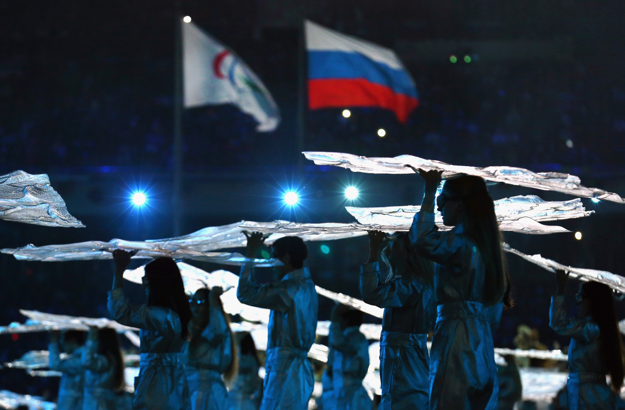 Russia's Paralympic ban has been maintained for another month ©Getty Images