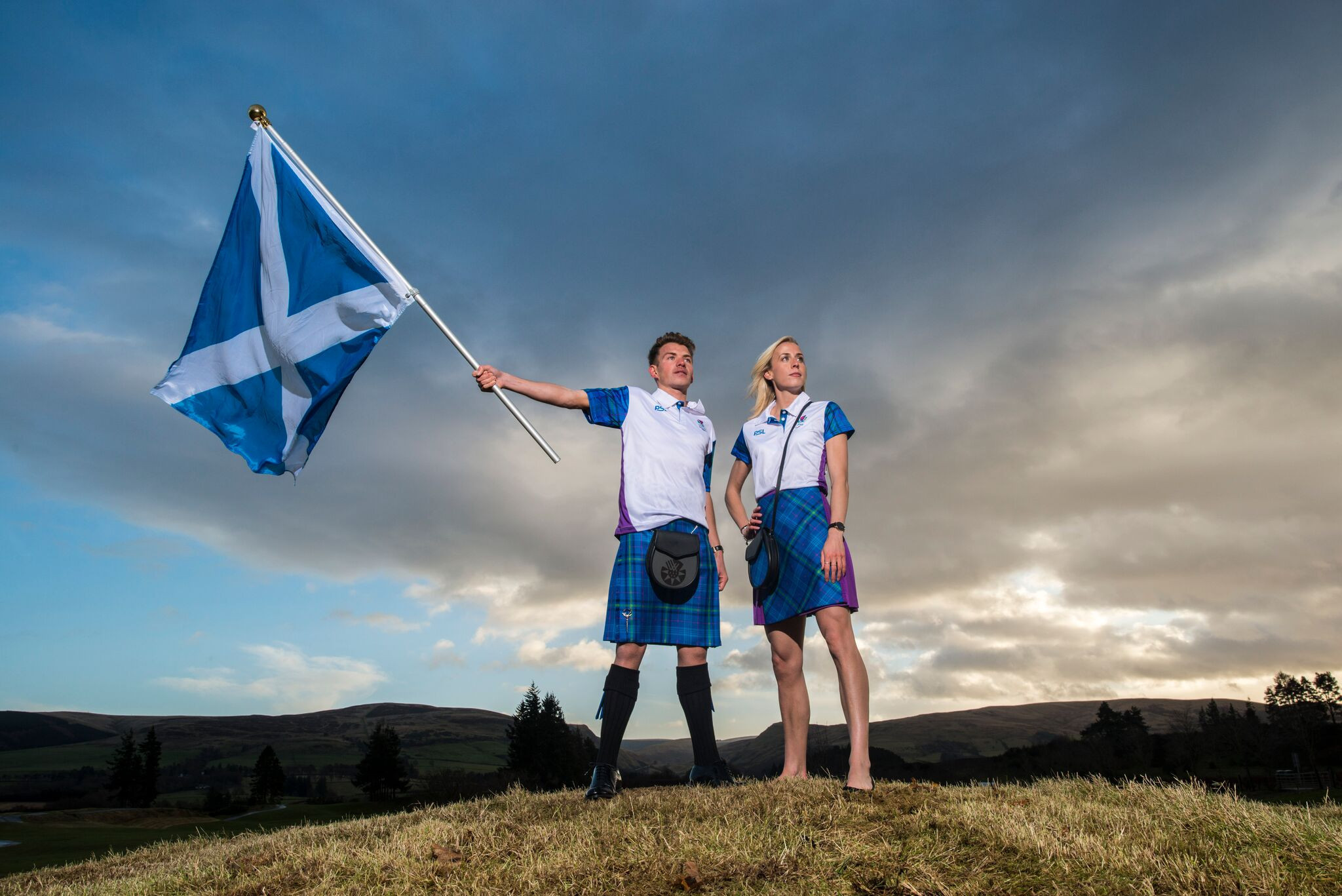 Team Scotland have released images of the uniform they will wear at the Commonwealth Games Opening Ceremony ©Team Scotland