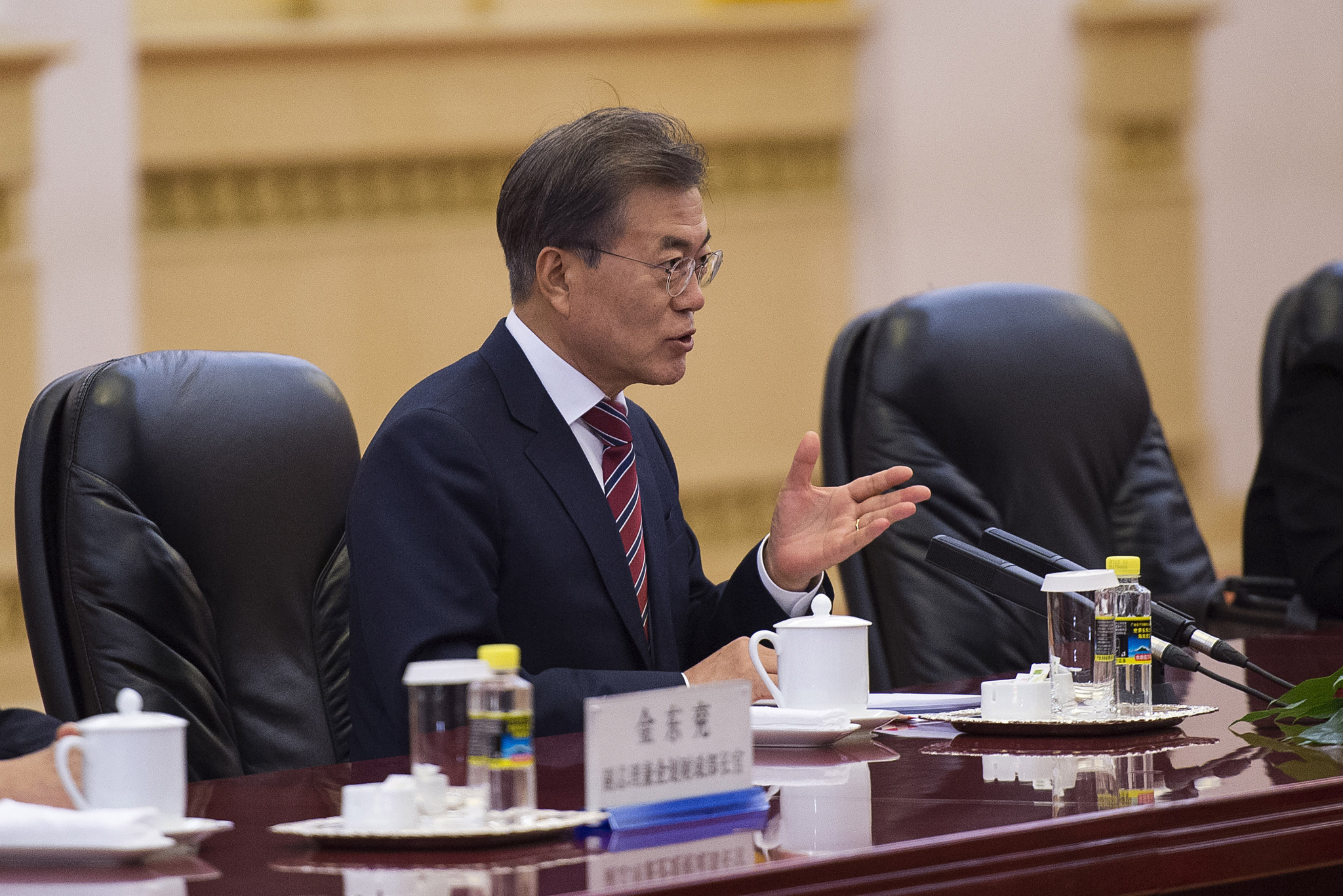 South Korean President Moon Jae-in has also vowed to cooperate with North Korea before Pyeongchang 2018 ©Getty Images