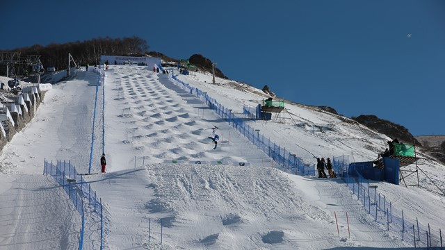 The Taiwoo ski resort will be used as a pilot resort for GISS-China ©Beijing 2022