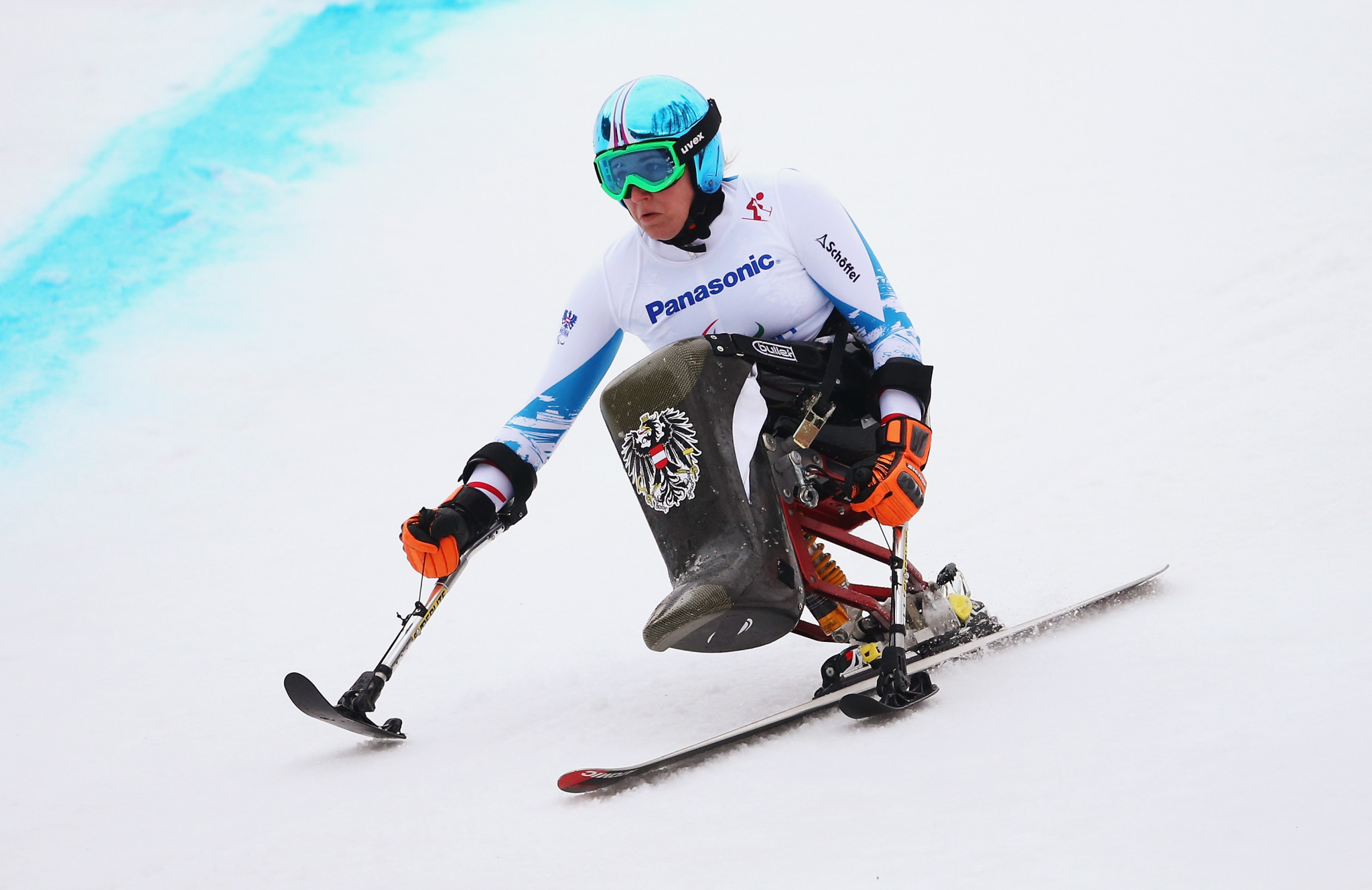 Loesch enjoys home win at World Para Alpine Skiing World Cup