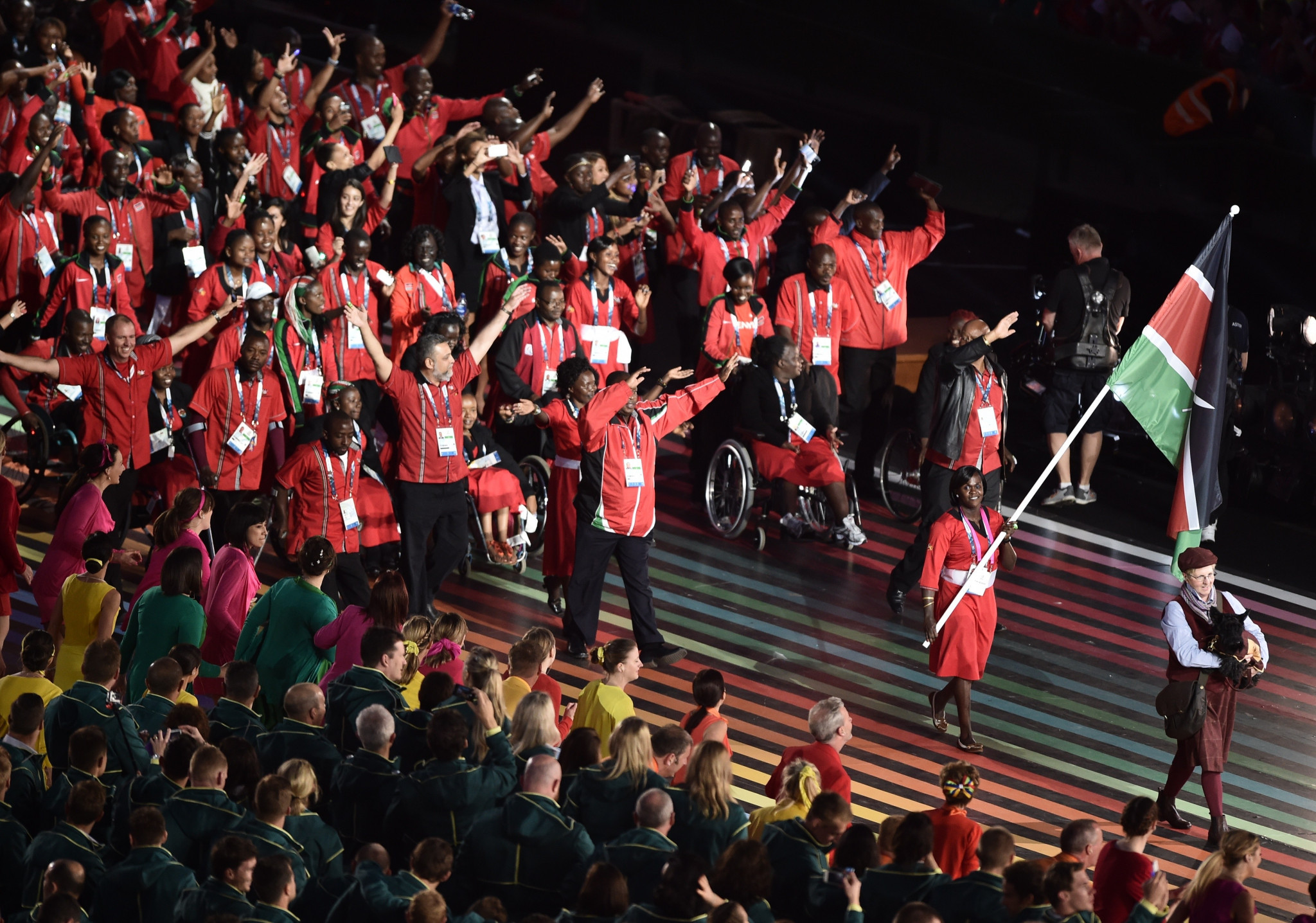 Kenya are due to send a 132-strong athlete delegation to the Gold Coast 2018 Commonwealth Games ©Getty Images