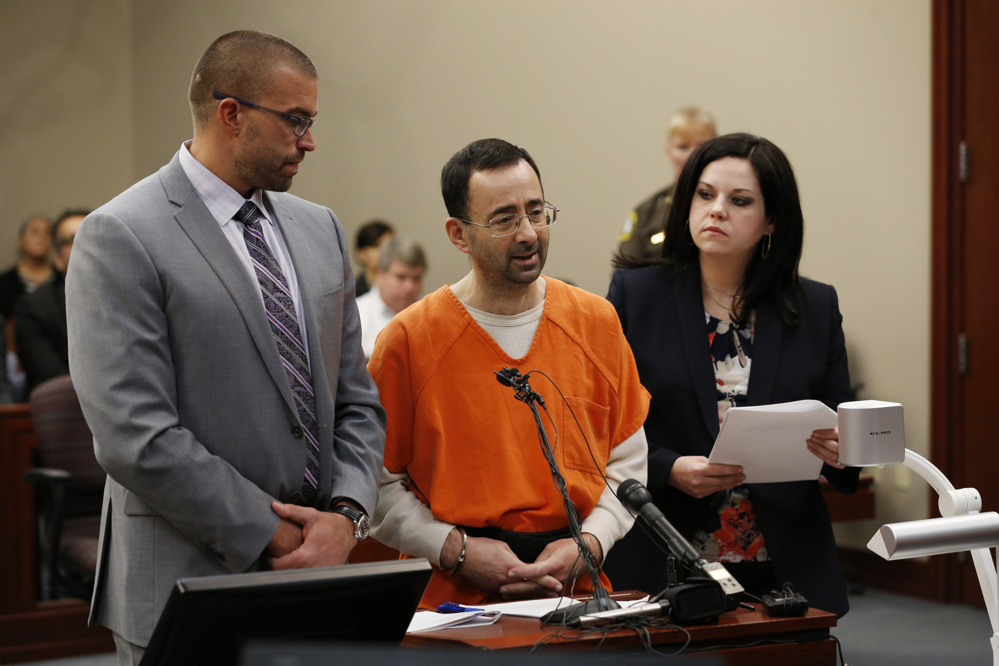 The scandal surrounding Larry Nassar has created growing pressure for change at USA Gymnastics ©USA Gymnastics