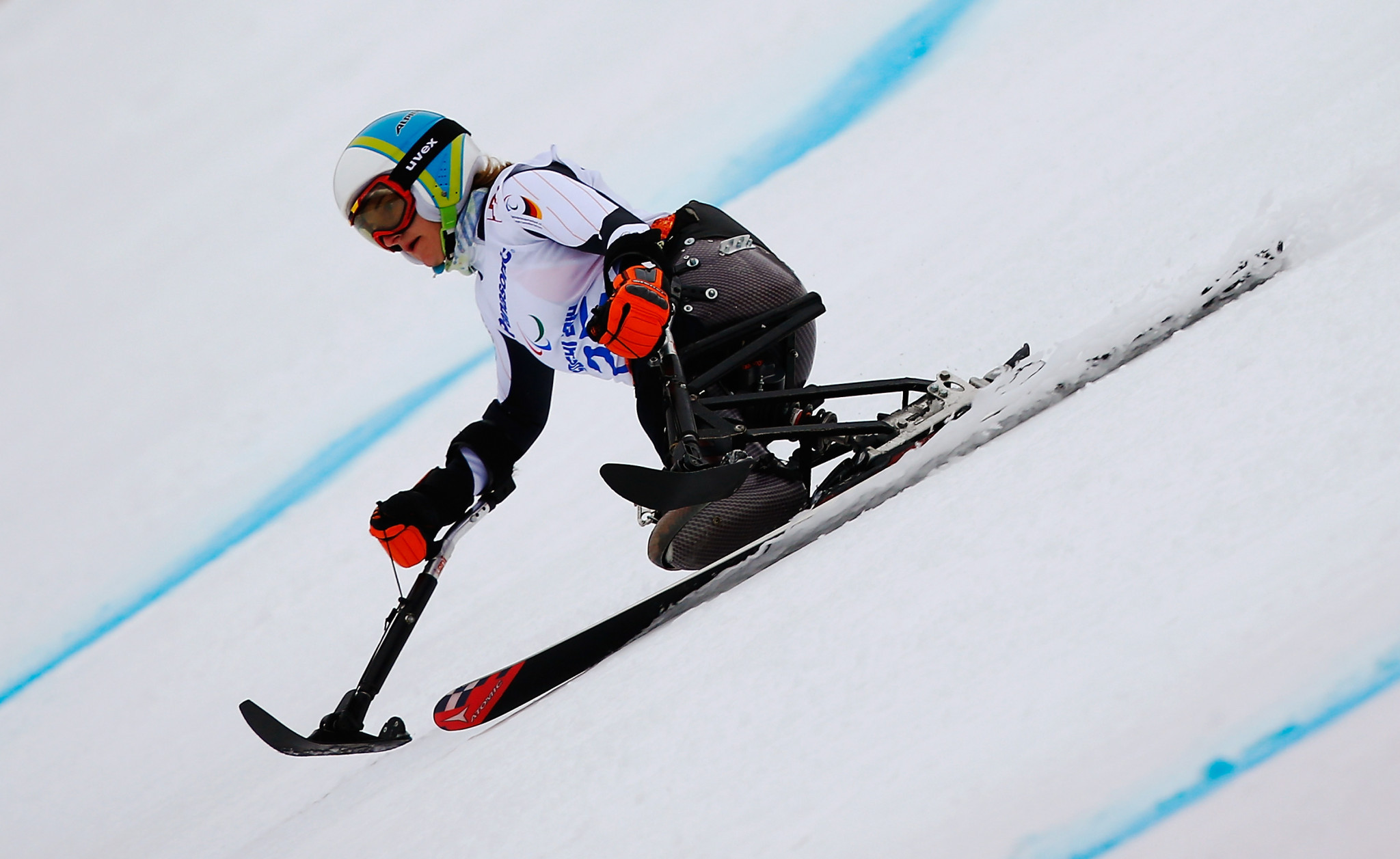 Forster slaloms to first win of season at World Para Alpine Skiing World Cup