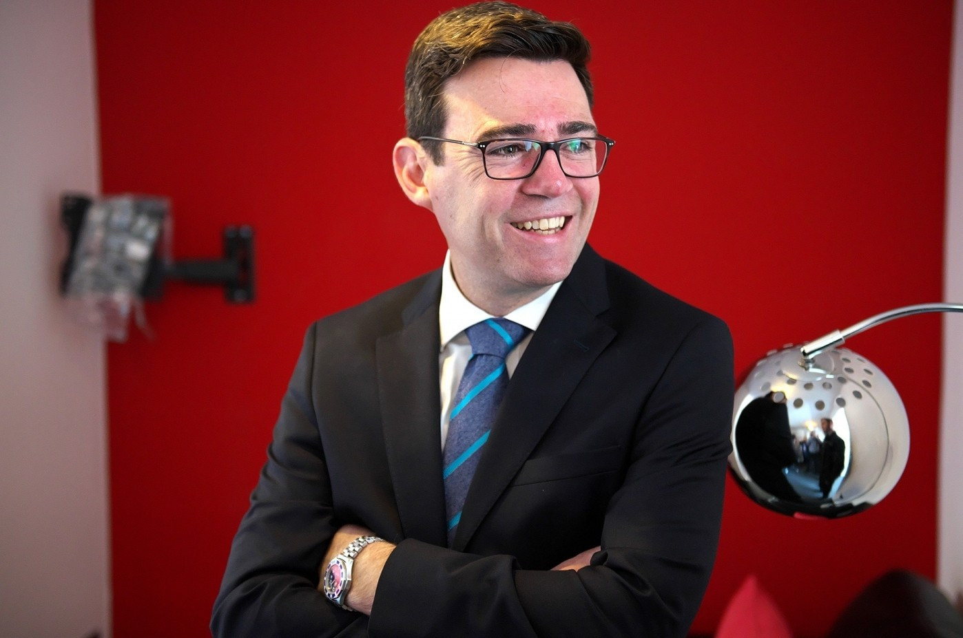 Andy Burnham, the current Mayor of Manchester, is the new President of the Rugby Football League ©rugby-league.com