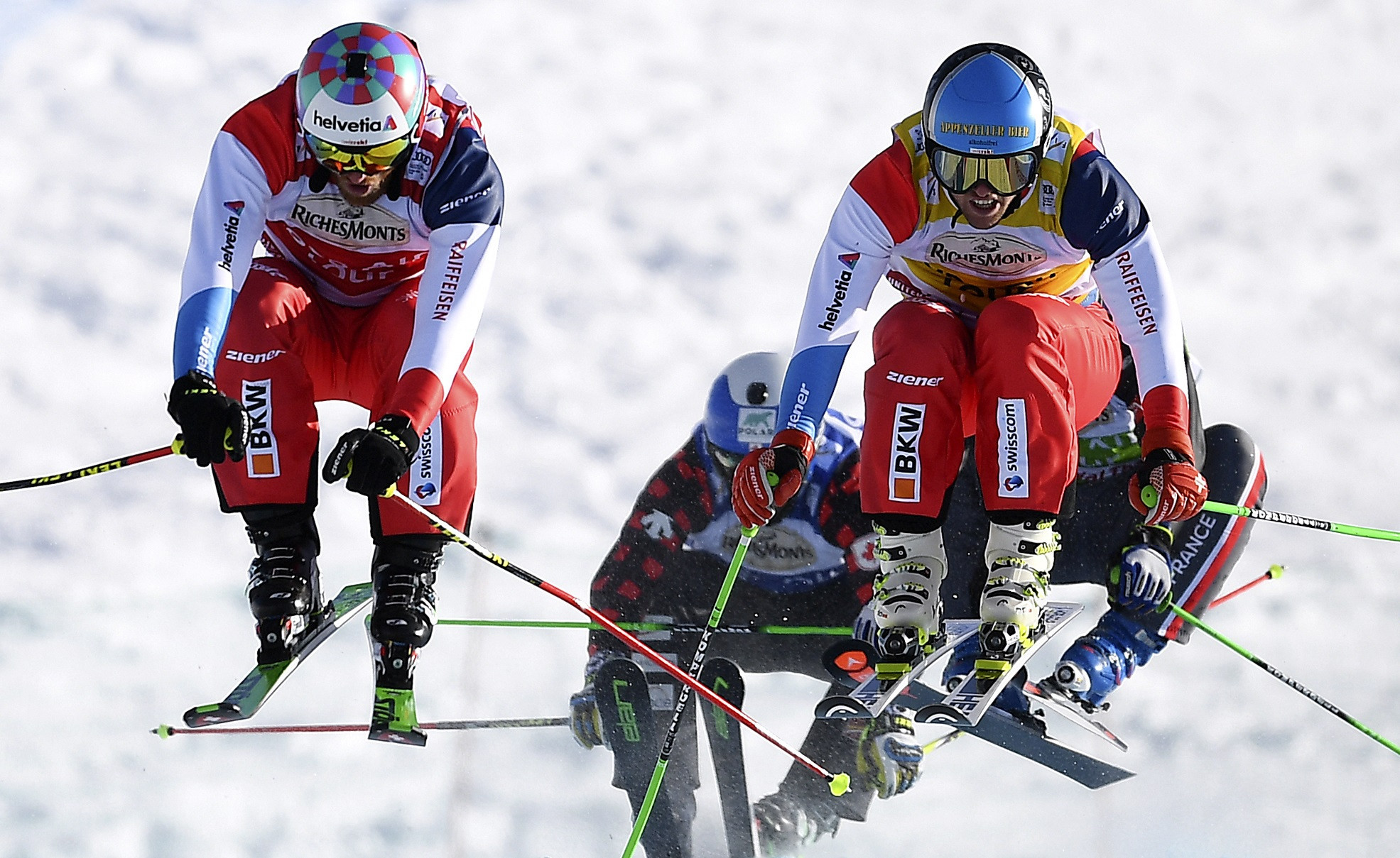 Bischofberger makes it back-to-back wins at FIS Ski Cross World Cup in Innichen
