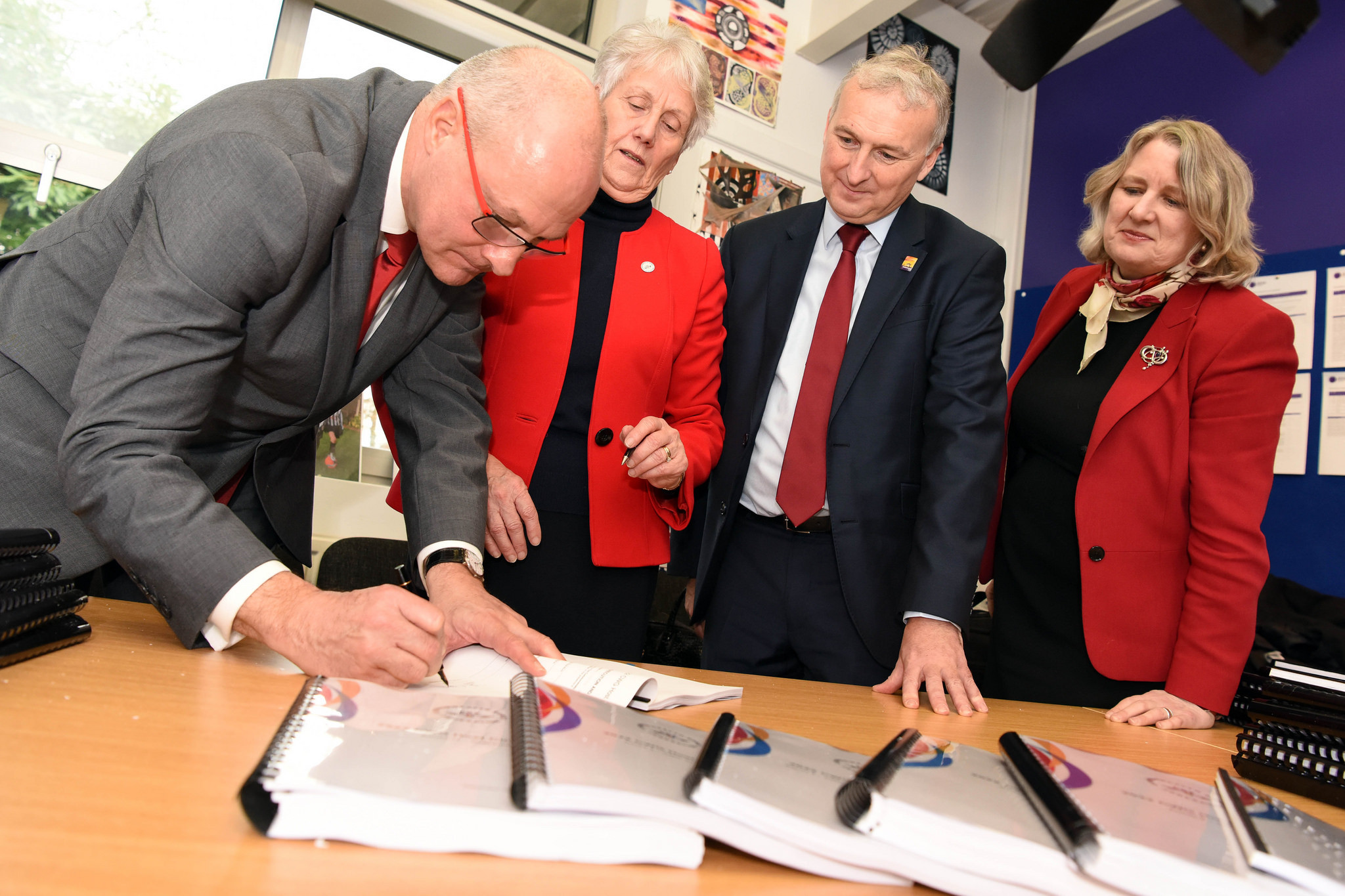The host city contract was officially signed yesterday ©Birmingham 2022