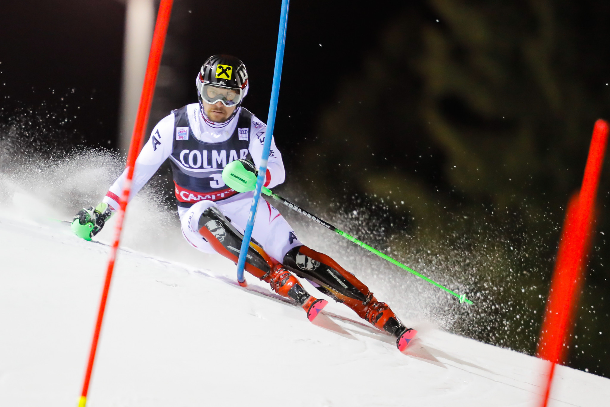 Hirscher maintains commanding start to season with slalom success at Alpine Skiing World Cup