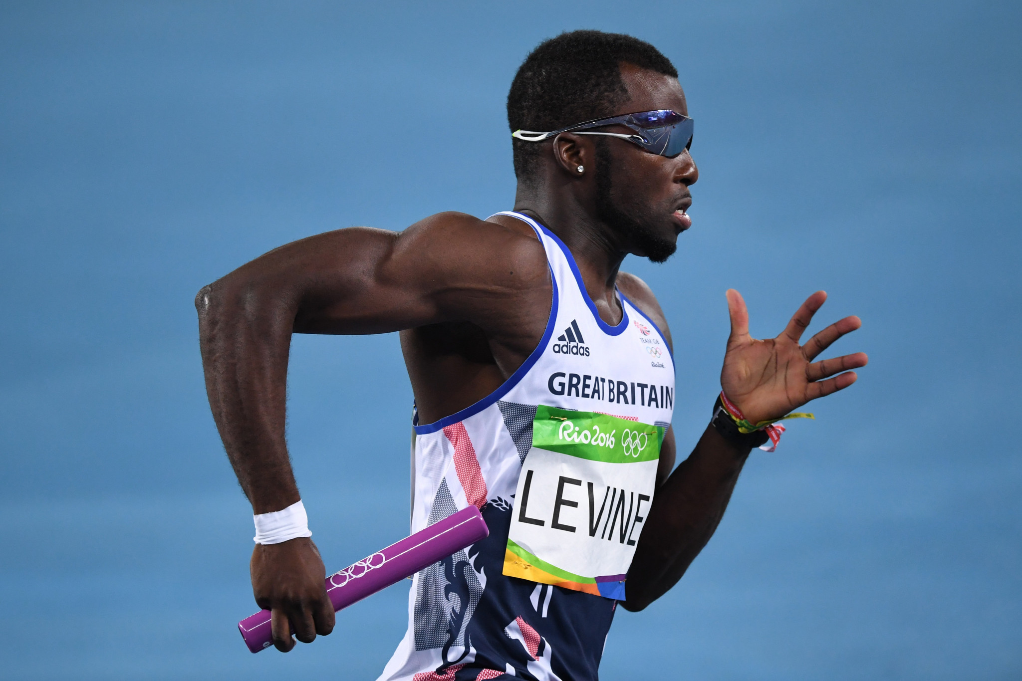 British sprinter Nigel Levine, a double European gold medallist and three-time world medallist, is alleged to have failed a drugs test ©Getty Images