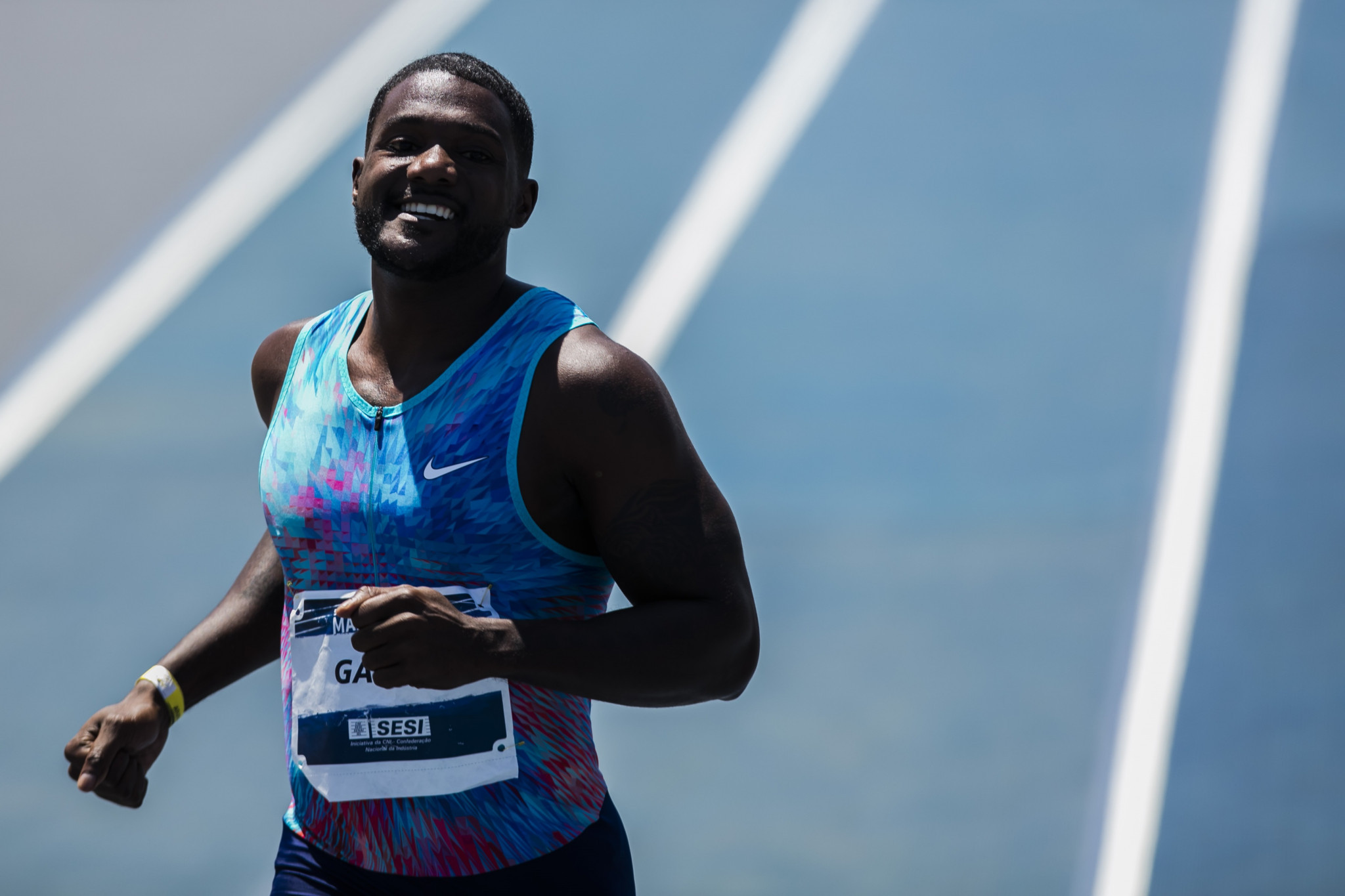 Nigel Levine is understood to use Robert Wagner, the man at the centre of the latest Justin Gatlin controversy, as a race agent ©Getty Images