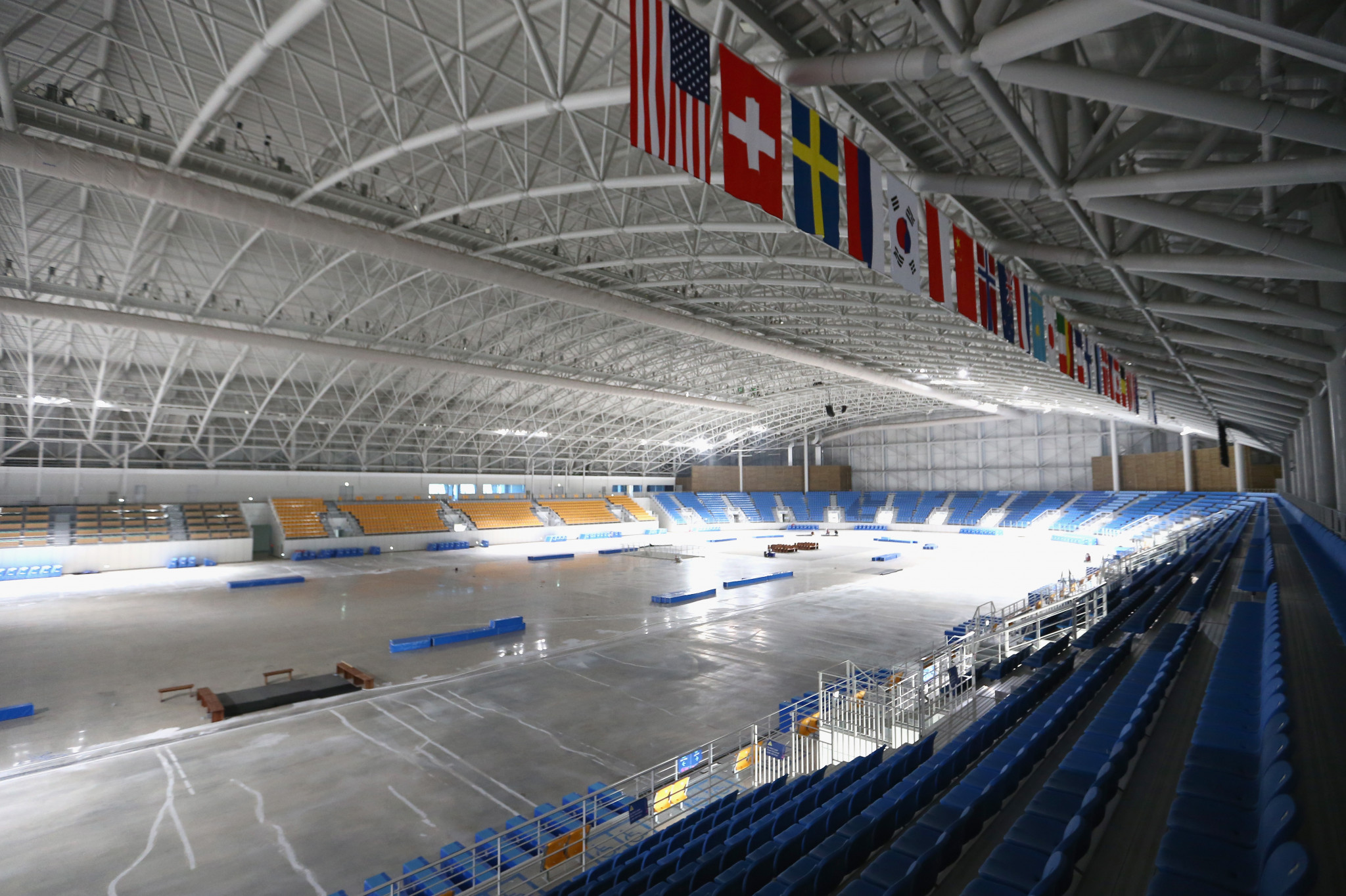 A record number of nations are set to participate in speed skating at Pyeongchang 2018 ©Getty Images