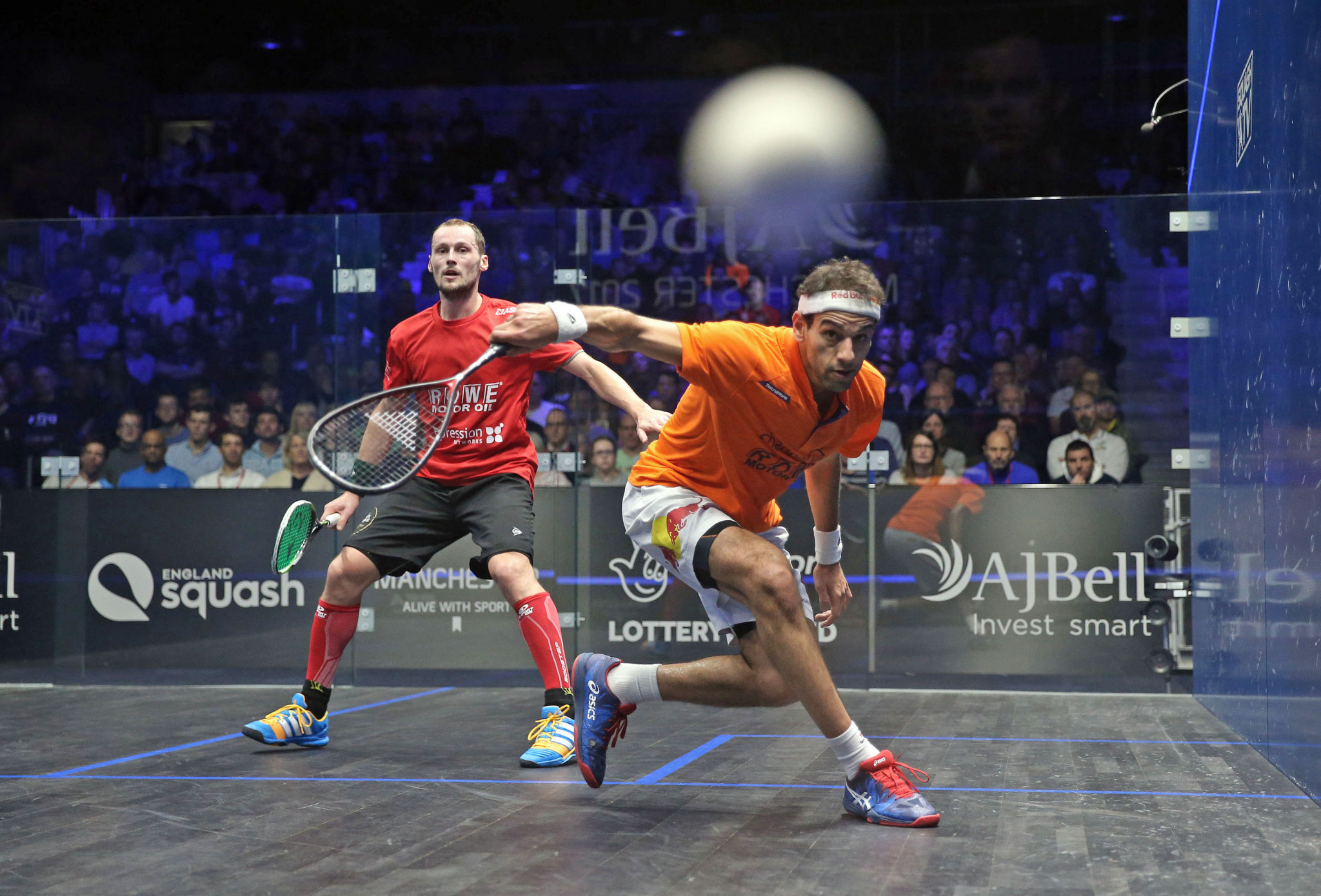 Elshorbagy and Gaultier to battle for world number one spot at PSA Tournament of Champions as draw released