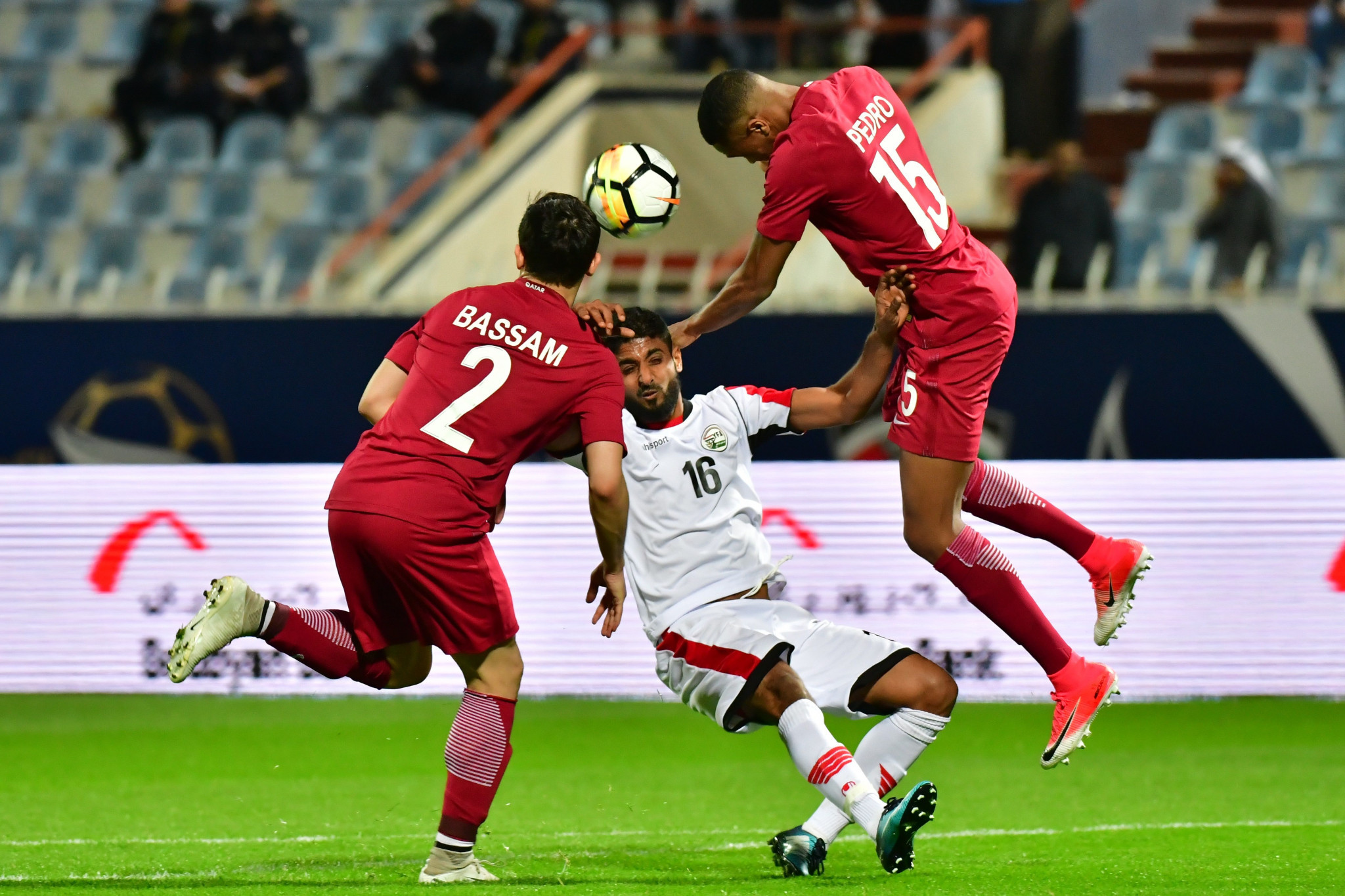 Qatar were in dominant form and scored three goals in the opening 18 minutes ©Getty Images