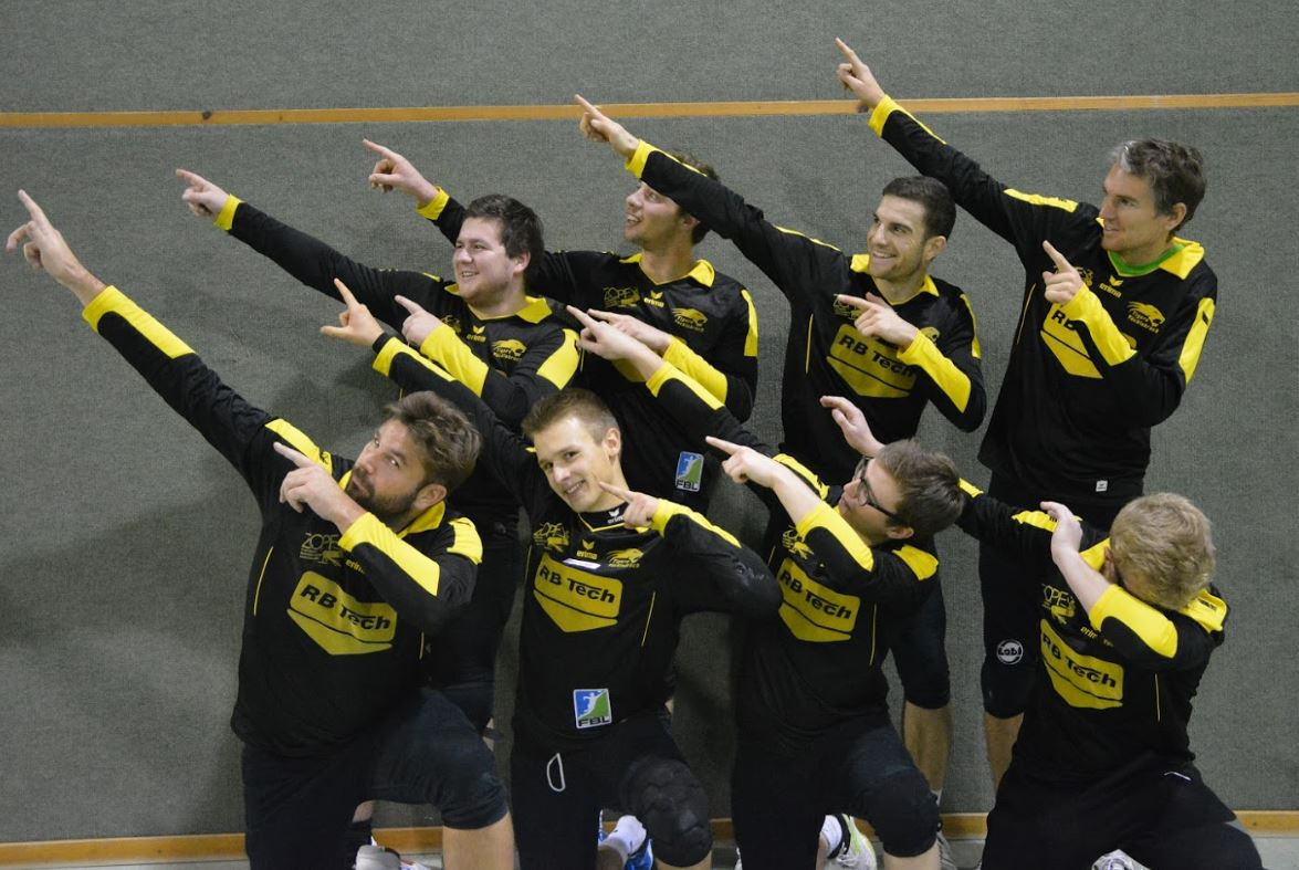 The Tigers Vöcklabruck team, pictured, will host the Masters World Cup in July ©Tigers Vöcklabruck