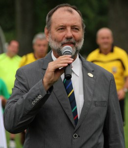 IFA President Karl Weiss, pictured, belives that Vöcklabruck was the best option to host the Masters World Cup
