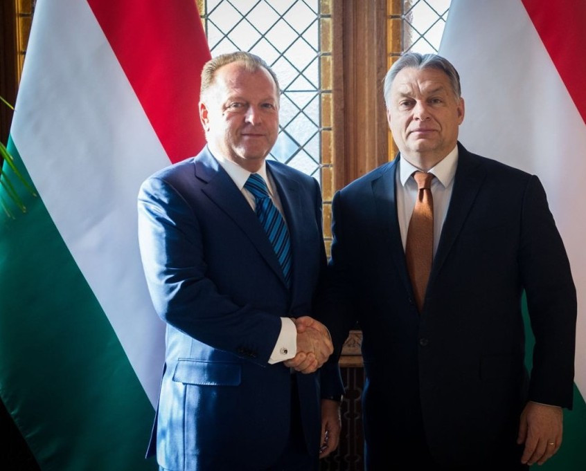 IJF President visits Hungarian Parliament for working lunch