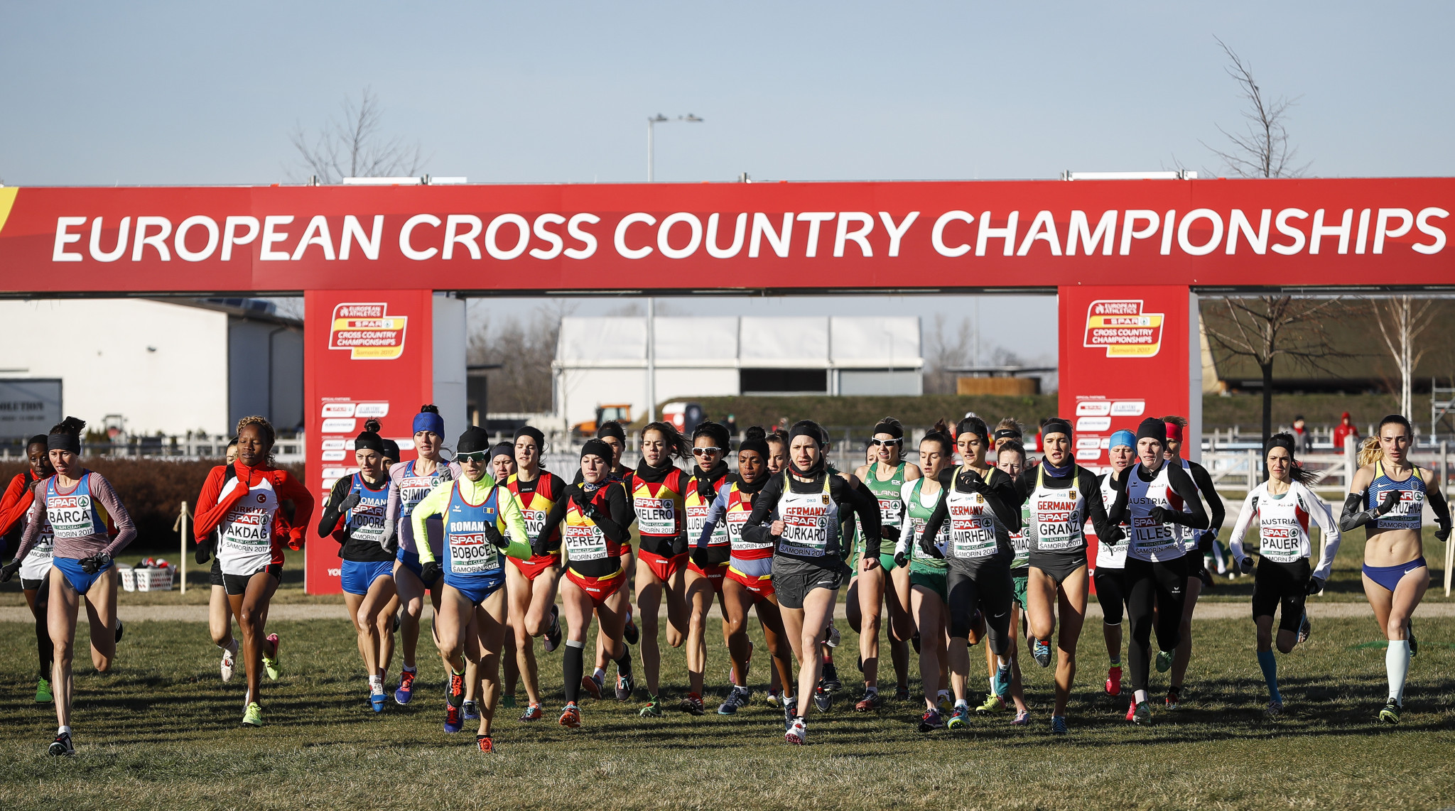 The recent European Cross-Country Championships took place on a relatively boring course ©Getty Images