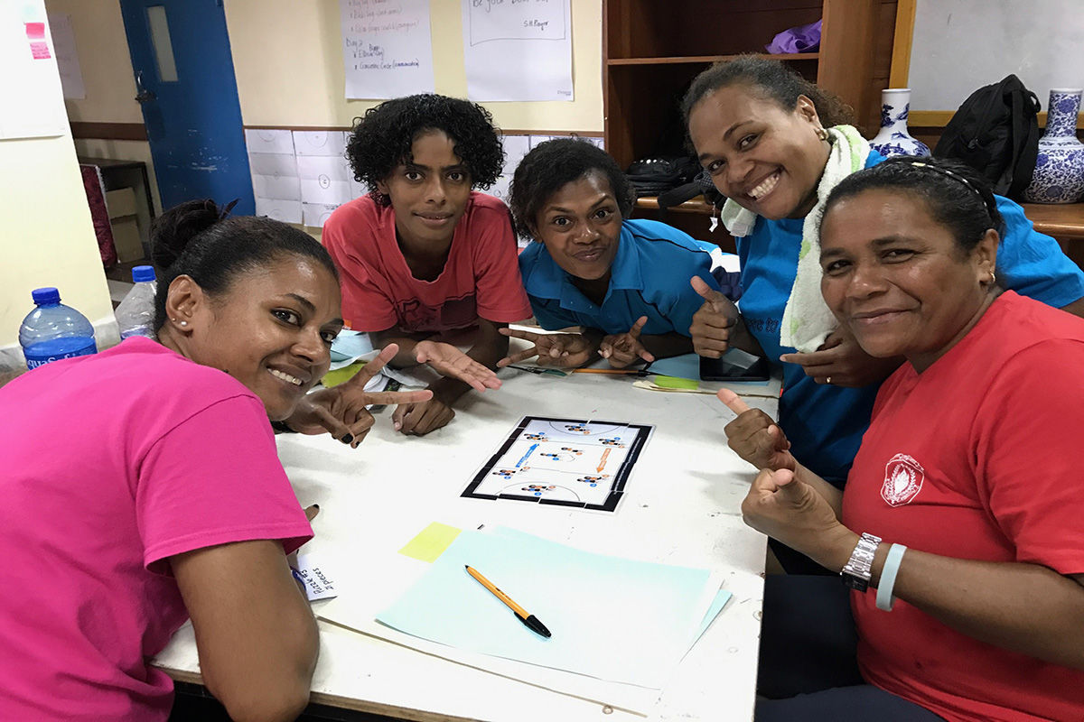 A development programme has been launched in Fiji by Netball New Zealand ©NNZ