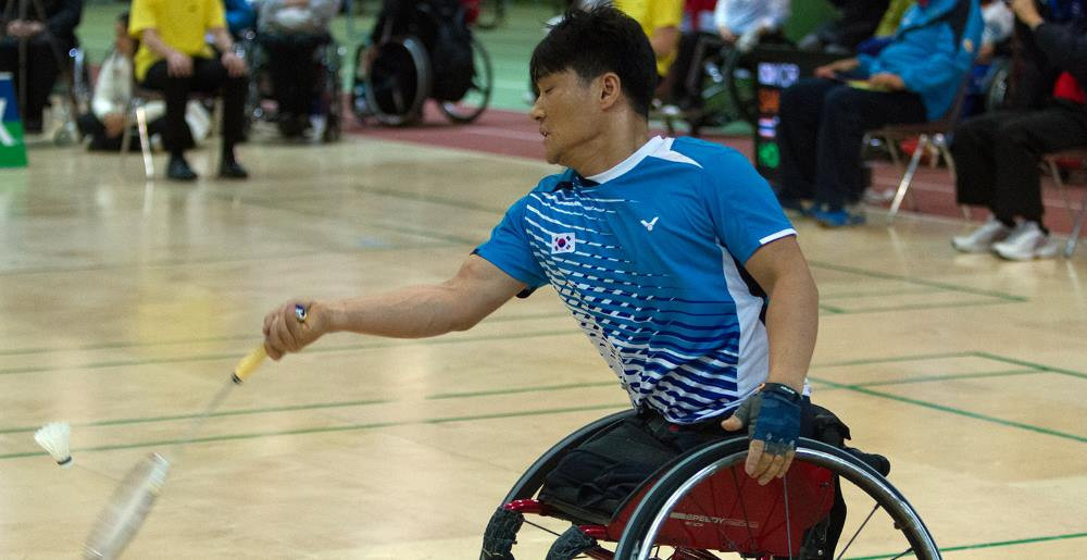 South Korea's Kim Jung-jun scooped the men's award ©BWF