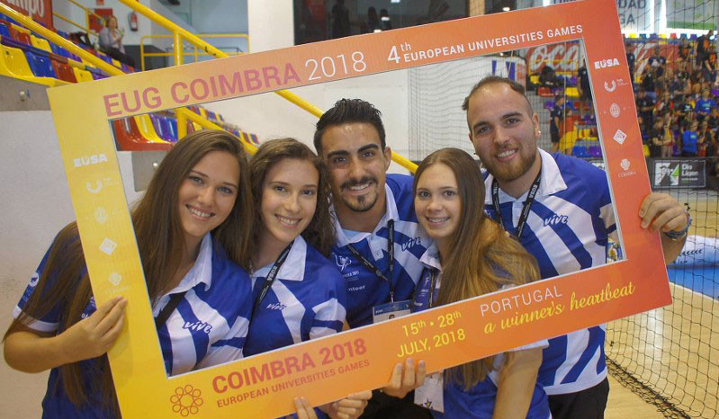 Registration has opened for the European Universities Games 2018 in Coimbra