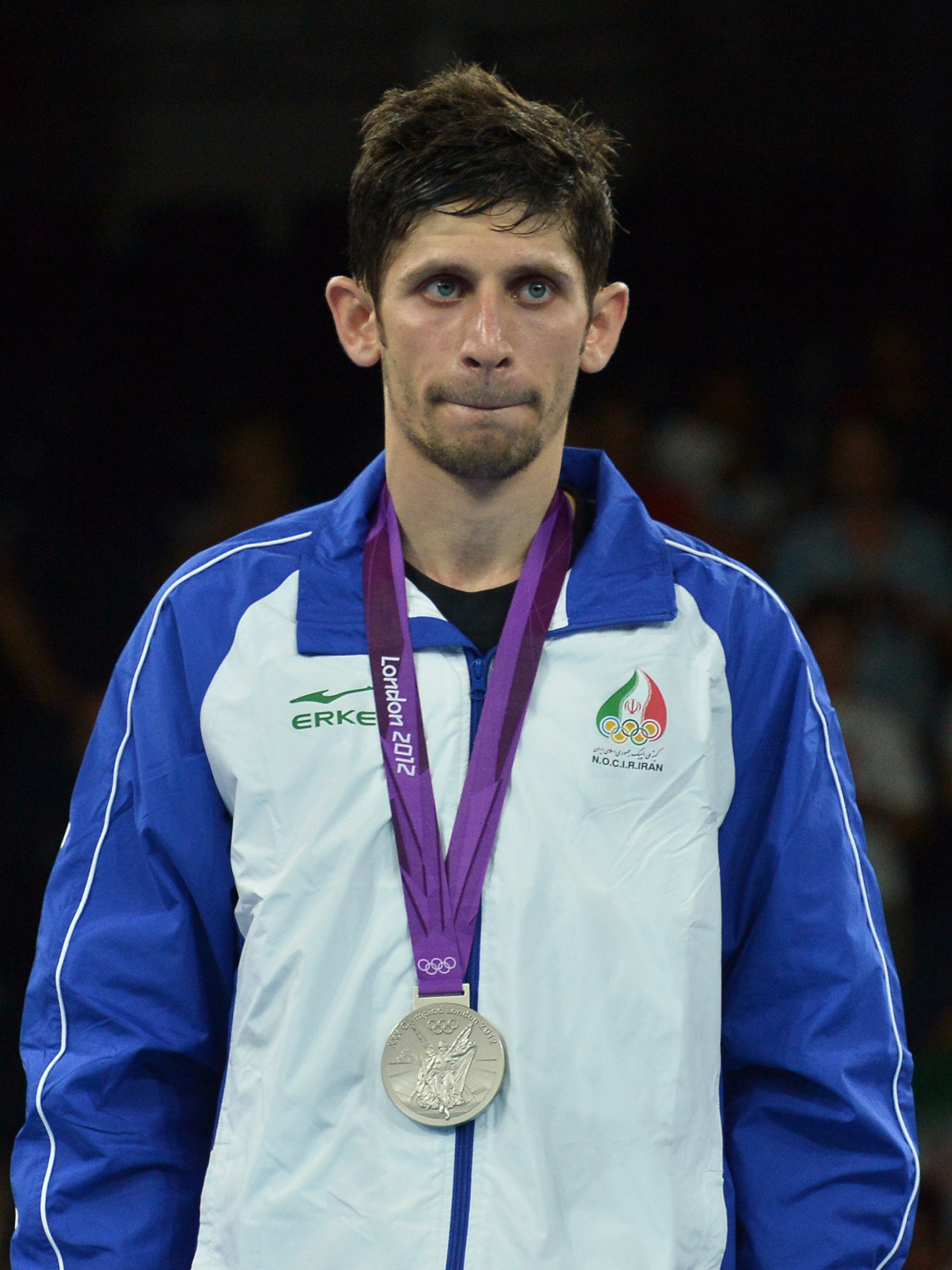 Mohammad Bagheri Motamed won silver at the London 2012 Olympics in the 68kg category ©Getty Images