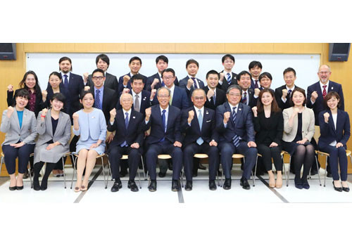Japanese Olympic Committee holds ceremony to mark completion of 2017 International Sports Leader Academy