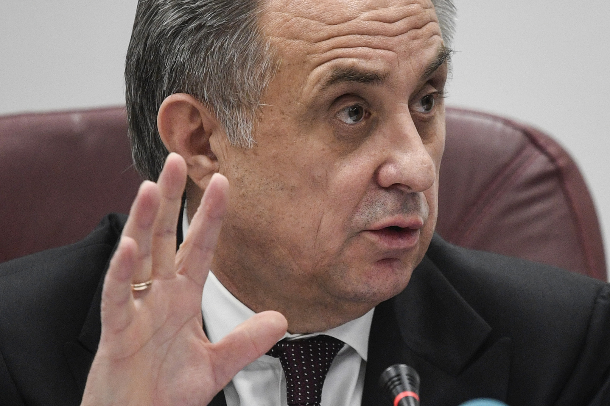 Vitaly Mutko has left his World Cup role ©Getty Images