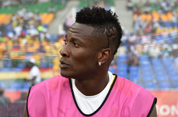 Ghana's footballer Asamoah Gyan, whose hairstyle was deemed