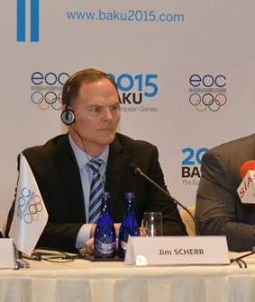 Jim Scherr, who stepped down as chief operating officer of Baku 2015 in April 2014, has been appointed interim executive director of the National Wheelchair Basketball Association ©ITG