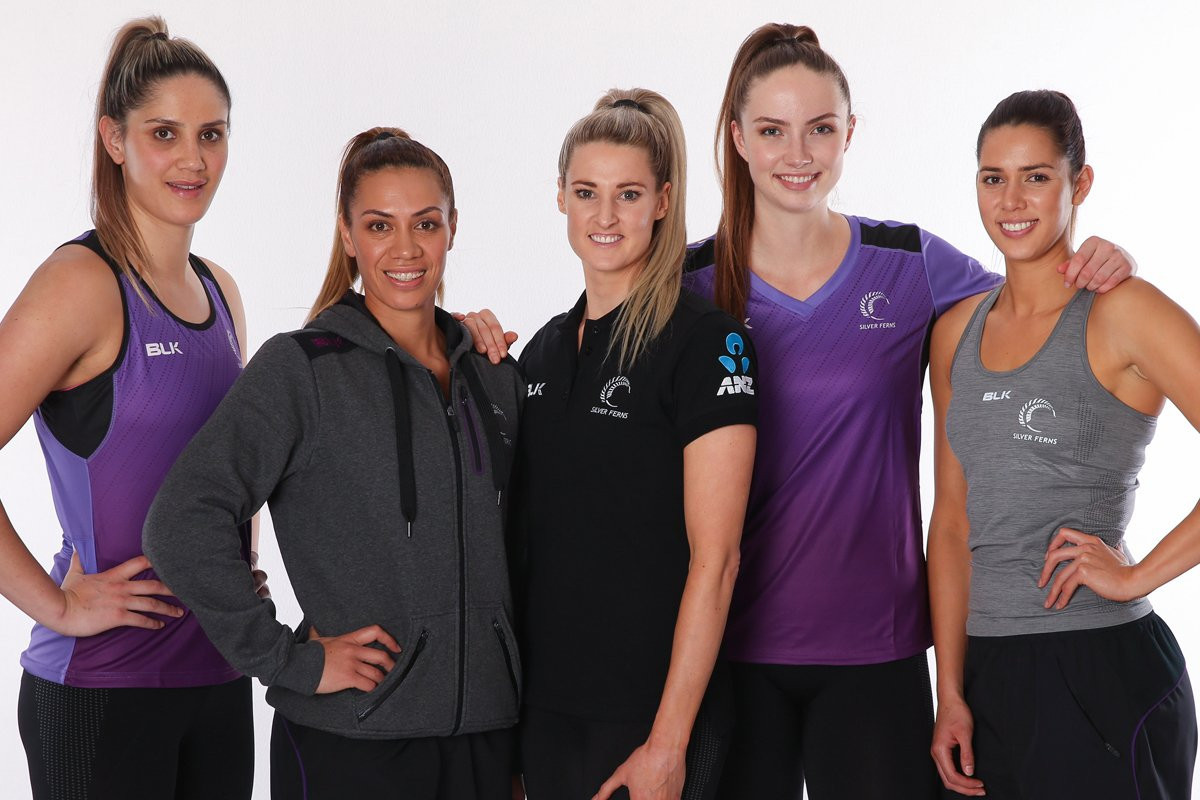 Netball New Zealand, with top stars modelling their latest clothing range, has enjoyed a fine year ©NetballNZ