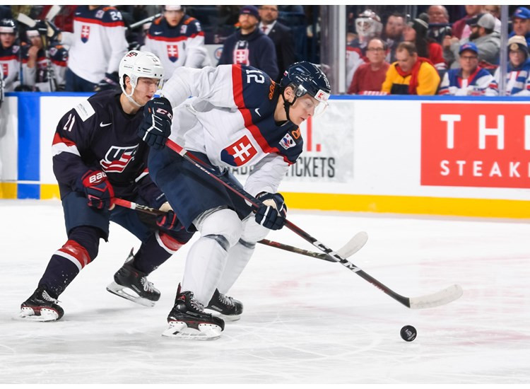Slovakia claimed an unexpected 3-2 victory over hosts and defending champions the United States at the IIHF World Junior Championships in Buffalo ©IIHF
