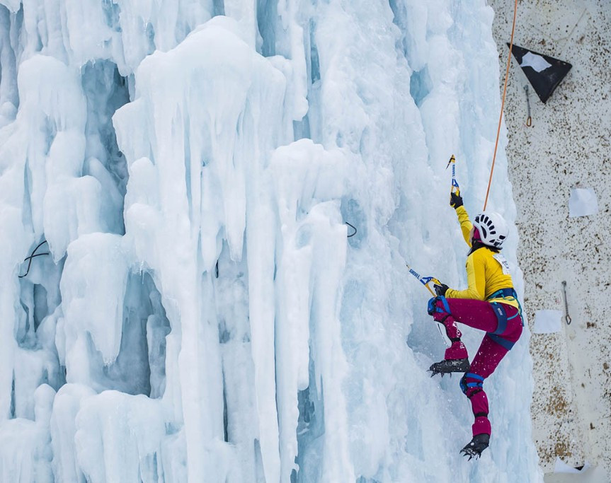 Olympic Channel to show live coverage of 2018 UIAA Ice Climbing World Tour