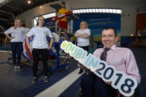Organisers of 2018 World Para Swimming European Championships launch call for volunteers